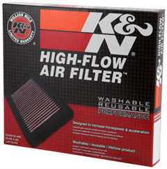K&N PERFORMANCE AIR FILTER COMMODORE VE VF V6 & V8 - Redline Performance
