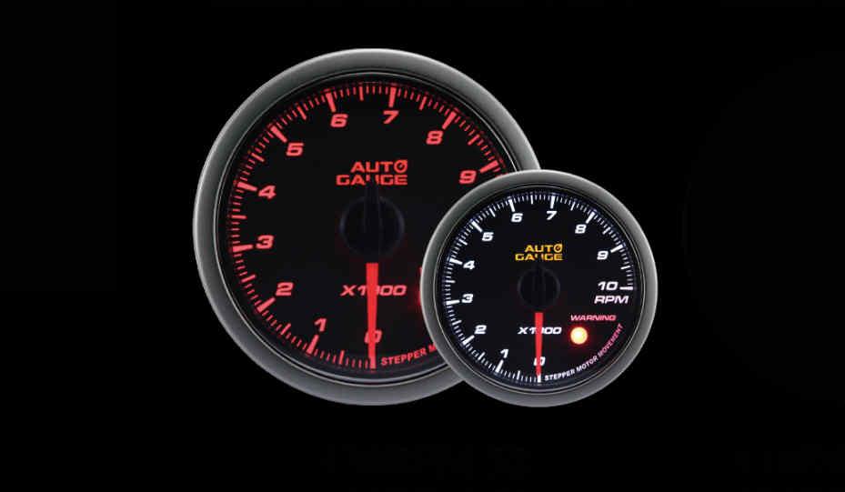 AUTOGAUGE 60mm TACHOMETER RPM GAUGE ELECTRONIC - Redline Performance