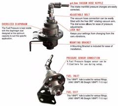 Tomei Fuel Pressure Regulator >> Tomei Genuine Fpr Fuel Pressure Regulator Type S Redline Performance