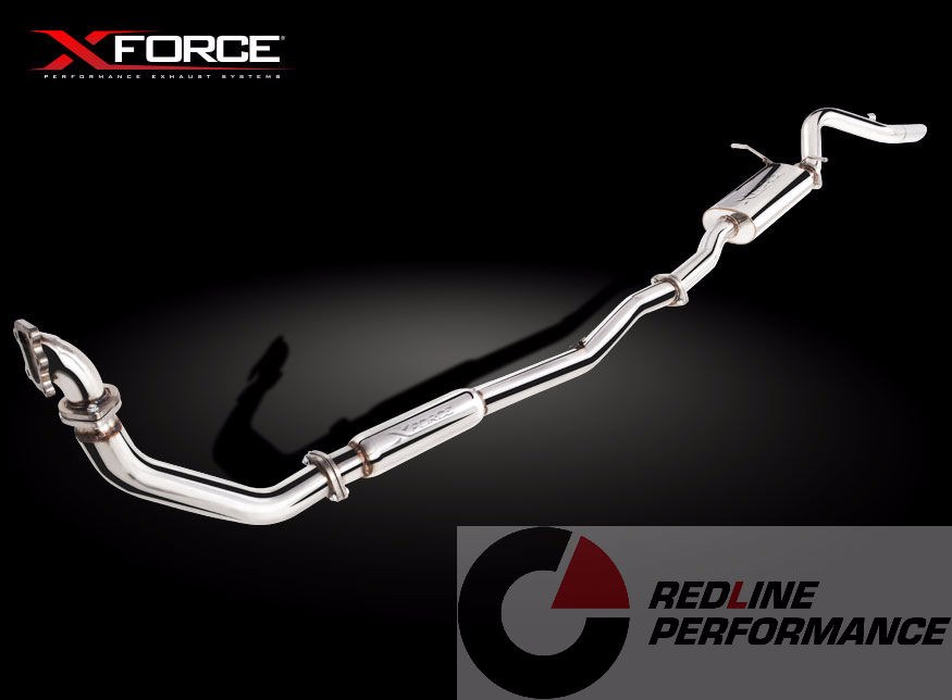 XFORCE NISSAN NAVARA 3 0TD D22 EXHAUST KIT - Redline Performance