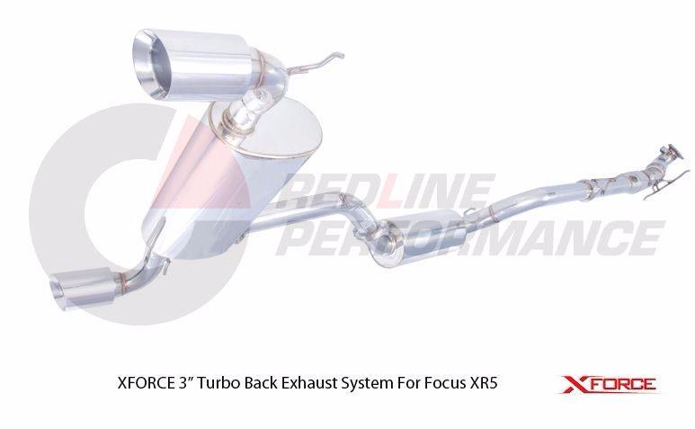 XFORCE FORD FOCUS XR5T PERFORMANCE EXHAUST KIT - Redline Performance