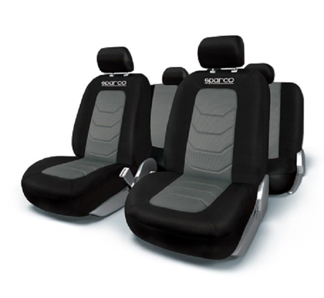 SPARCO Seat Cover SET Black Grey