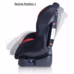 SPARCO F500K Red 2 18 Kg Front Rear Face Car Seat